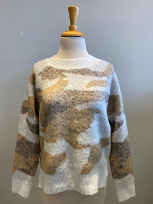 RD International Knit Camo Crew - Showroom56