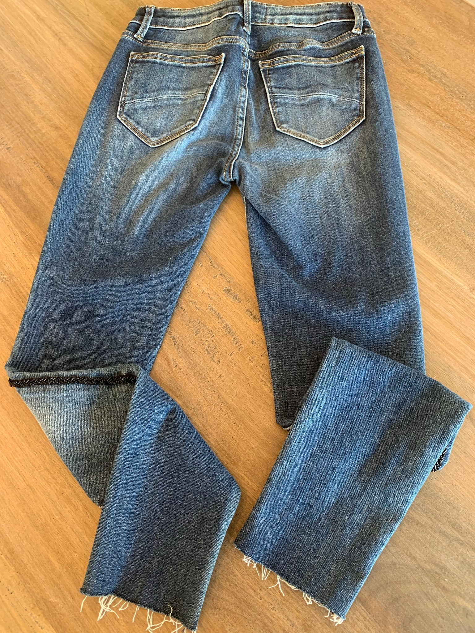 Driftwood Black Sequence Jeans - Showroom56