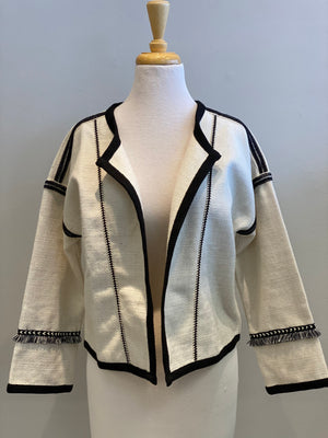 Contrast Woven Jacket