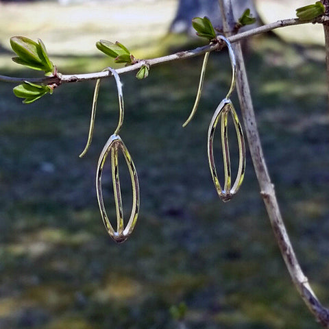 Marquise Leaf Earrings