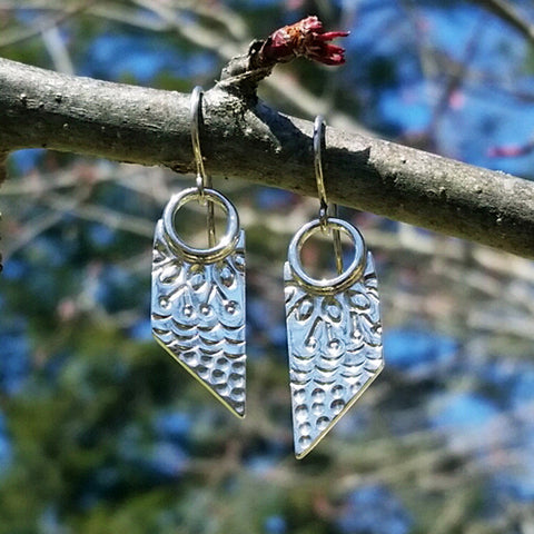 Quilt Block Earrings