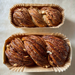 Hazelnut & White Chocolate Babka