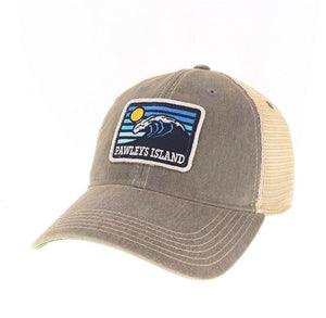 Old Trucker Wave Hat