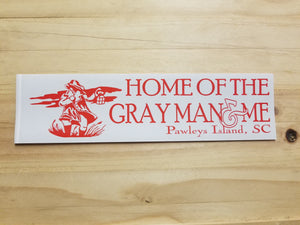 Grayman Bumper Sticker