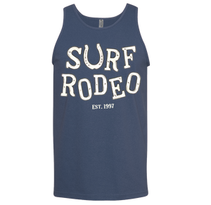 Surf Rodeo Drunk Men's Tank - Blue