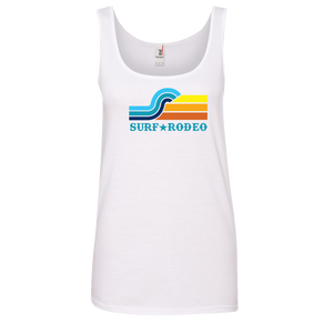 Surf Rodeo Woman's Tank - White