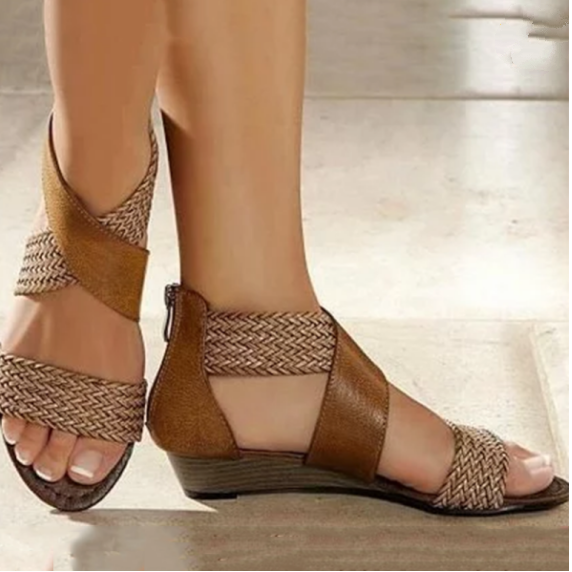 Buy Cheap 2020 New And Fashional Woman Chunky Ancient Sandals Online - Supsandal
