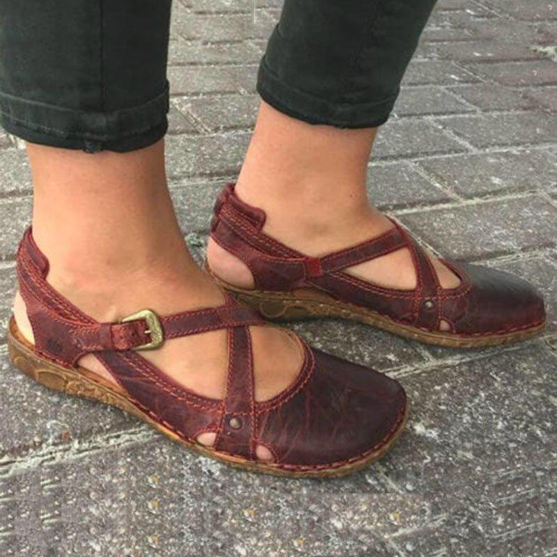 Buy Cheap Women round toe soft sole casual shoes Online - Supsandal