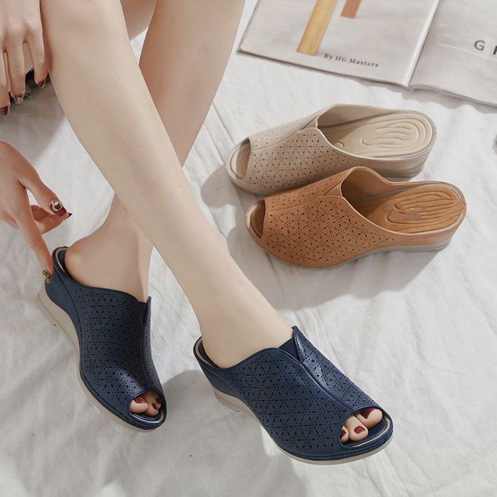 Buy Cheap 2020 New And Fashional Woman Comfortable Anti-slip Wedge Sandals Online - Supsandal
