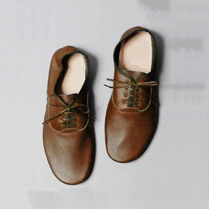 Buy Cheap SIMPLE STYLE LACE-UP SOFT FLATS LOAFERS Online - Supsandal