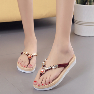 Buy Cheap Women Flats Sandals Ladies Beach Slippers Girls Flip-flops Online - Supsandal