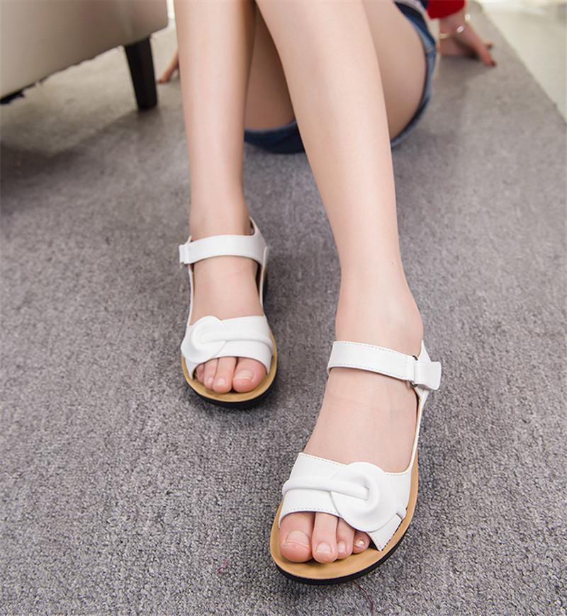 Buy Cheap Women Vintage Flat Gladiator Sandals Platforms Shoes Online - Supsandal