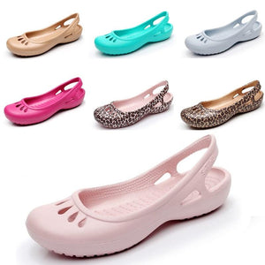 Buy Cheap Women's Fashion Clog Sandals Shoes Sweet Cute Beach Jelly Shoes Online - Supsandal