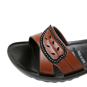 Buy Cheap Summer Women Flat Sandals Genuine Leather Beach Shoes Anti Slip Causal Sandals Online - Supsandal