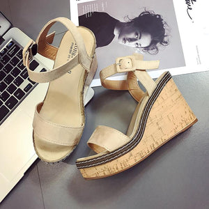 Buy Cheap Women Summer Platform Sandals Fish Mouth High Heels Wedge Sandal Shoes Online - Supsandal