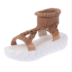 Buy Cheap women summer beach sandals casual shoes woman flatform wedges non-slip students sweet candy sandalias mujer sapato feminino D034 Online - Supsandal
