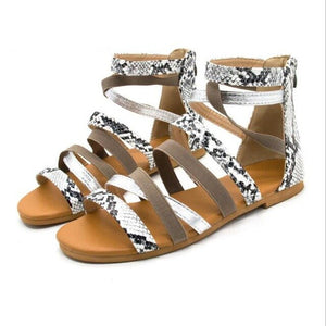 Buy Cheap women summer beach sandals flats shoes woman gladiator cross-tied bohemia plus size PU sandalias mujer sapato feminino D110 Online - Supsandal