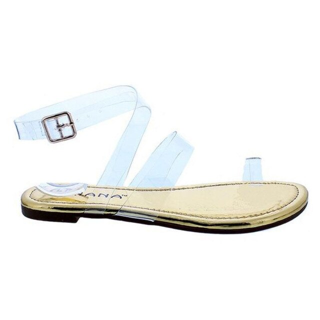 Buy Cheap women summer flats sandals shoes woman flip thong clear transparent PVC fashion outdoor sandalias mujer sapato feminino H454 Online - Supsandal