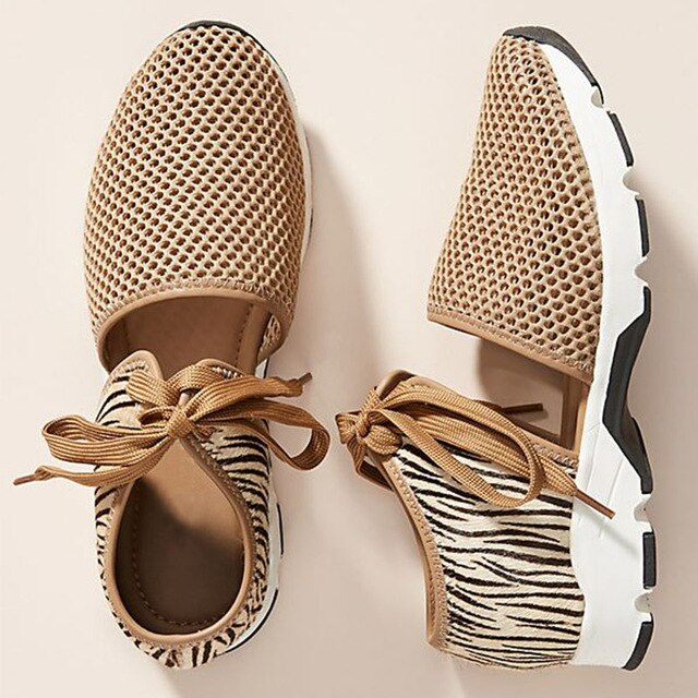Buy Cheap women summer sandals heels pumps shoes woman PU leather plus size lace up breathable mesh sandalias mujer sapato feminino D187 Online - Supsandal