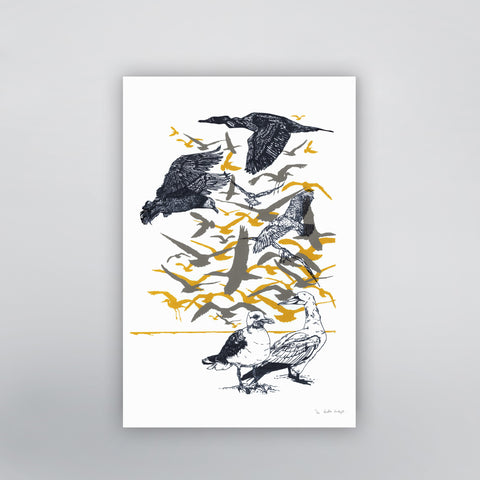 Flock of Birds Limited Edition by Fawn and Thistle