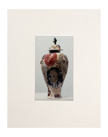 Grayson Perry 'Sex & Drugs & Earthenware' Mini Print