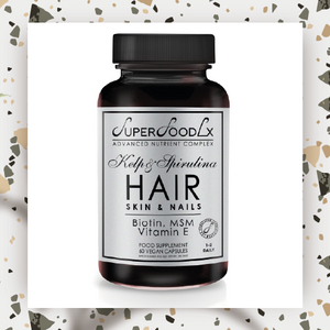 Hair, skin & nails supplement, more options available