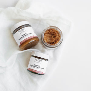 Brightening body scrub