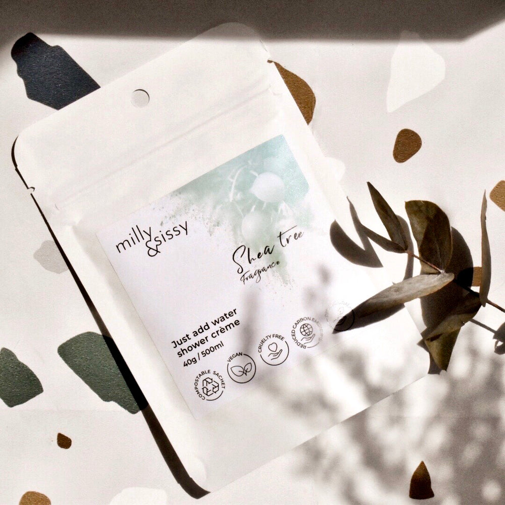 Load image into Gallery viewer, Zero waste shower crème- shea tree refill