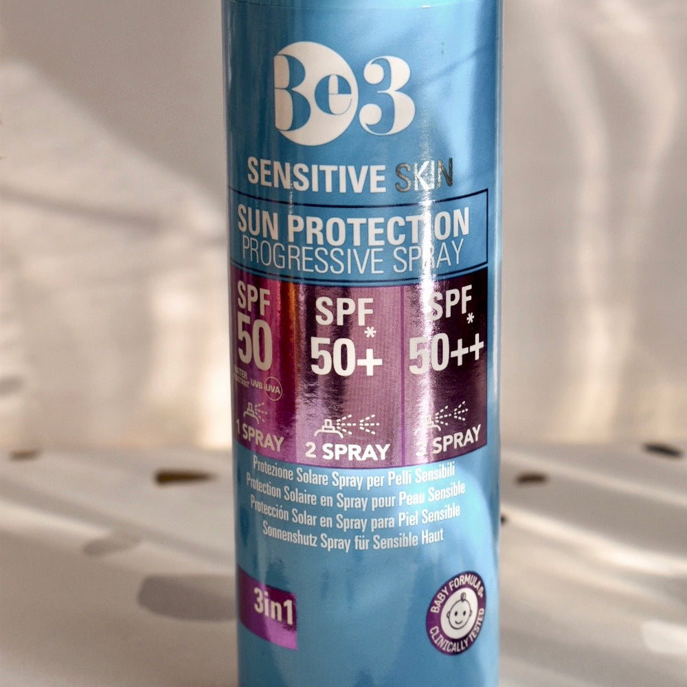 Load image into Gallery viewer, Sensitive Skin Sun Protection Progressive Spray 50/+50%/+90% - 90ml