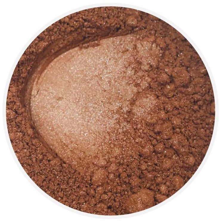 Mineral bronzer sample