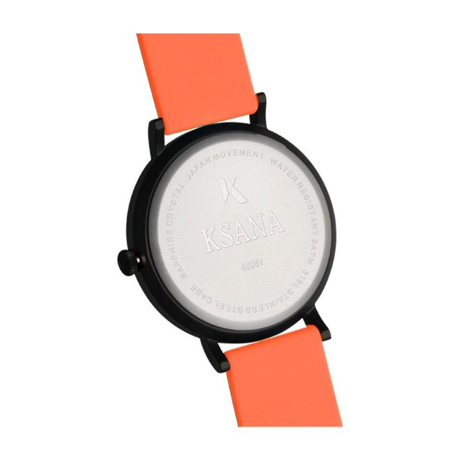 Neon Orange Ksana watch, more options available