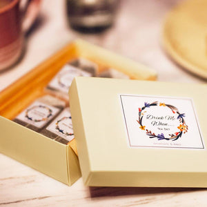 Load image into Gallery viewer, 'Drink Me When' Personalised Message Tea Gift Set