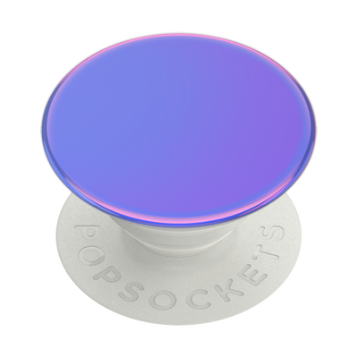 Color Chrome Aurora Purple 極光紫 <可替換泡泡帽>, PopSockets