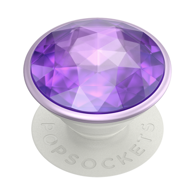 Disco Crystal Orchid 迪斯可紫寶石 <可替換泡泡帽>, PopSockets