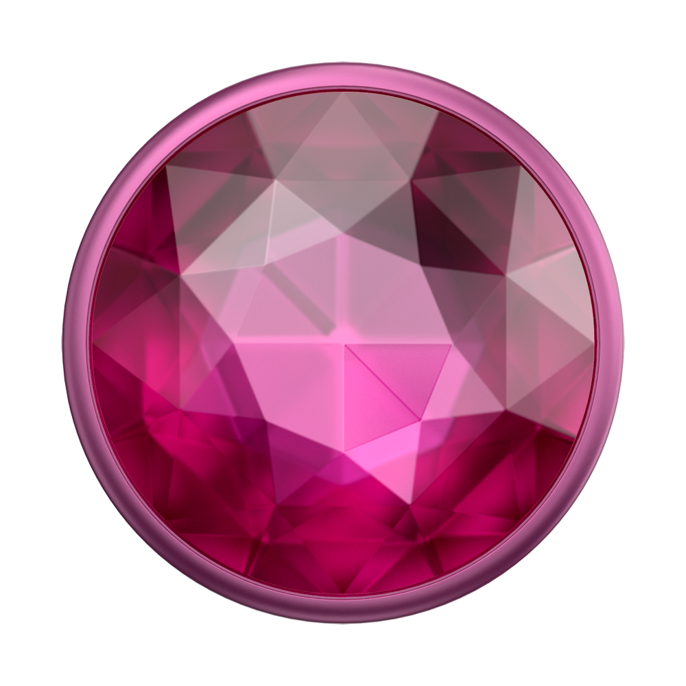 Disco Crystal Plum Berry 迪斯可桃紅寶石 <可替換泡泡帽>, PopSockets