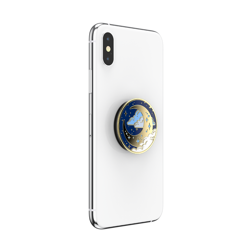 Enamel Fly Me To The Moon 帶我飛向月球<可替換泡泡帽>, PopSockets