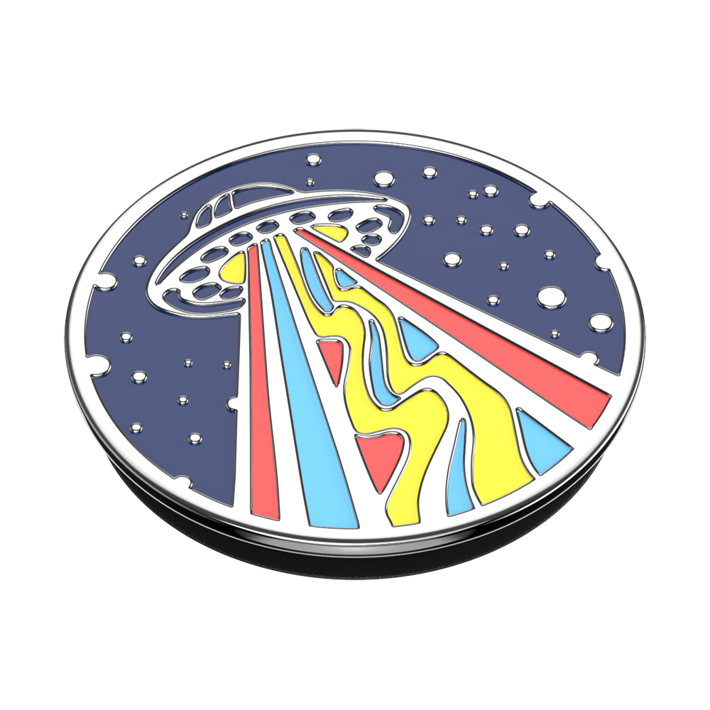 Enamel Outta This World Navy 飛到外太空 <可替換泡泡帽>, PopSockets