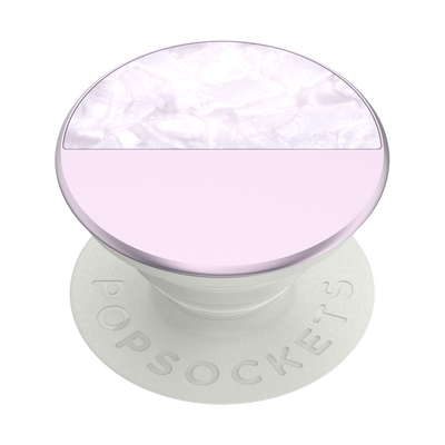 Glam Inlay Acetate Lilac 拼接薰衣草琥珀 <可替換泡泡帽>, PopSockets