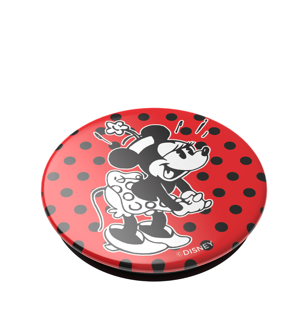 Minnie Polka Dots 復古點點米妮 <可替換泡泡帽>, PopSockets