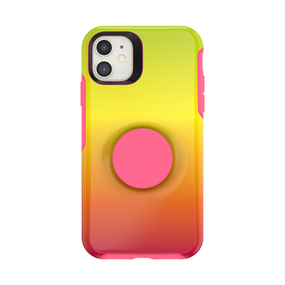iPhone 11 Otter + Pop Symmetry - Island Ombre, PopSockets