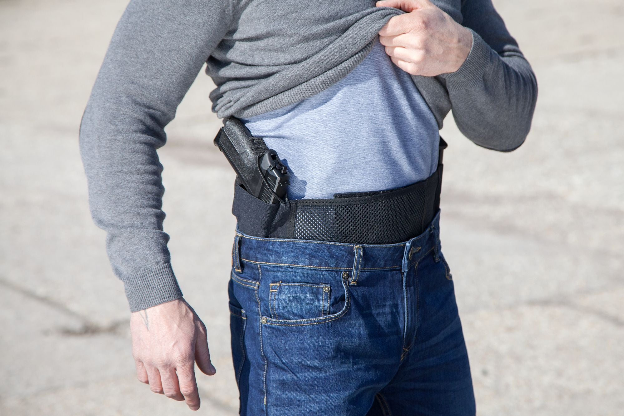 How To Use A Belly Band Holster?