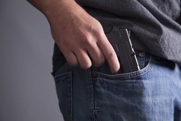 Not having a holstered - a common concealed carry mistakes
