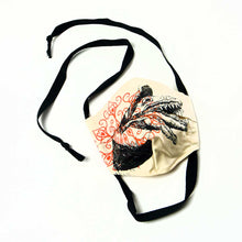 Load image into Gallery viewer, Designer face covering made with organic fabric by Matt Muirhead