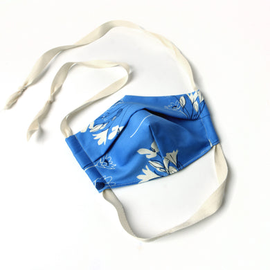 womens face mask flower print