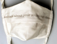 Load image into Gallery viewer, Limited Edition Organic Cotton Face Mask with Witty Sayings