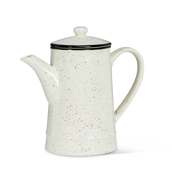 Speckle Coffee Pot with Rim