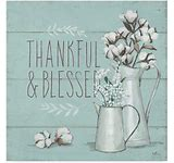 Thankful & Blessed Canvas