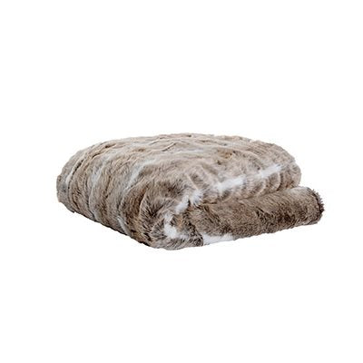 Grizzly Faux Fur Throw
