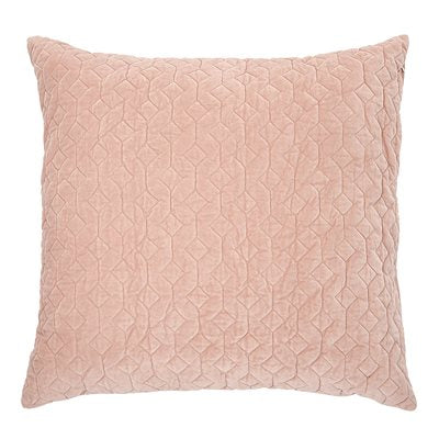 Velour Pink Blush Cushion