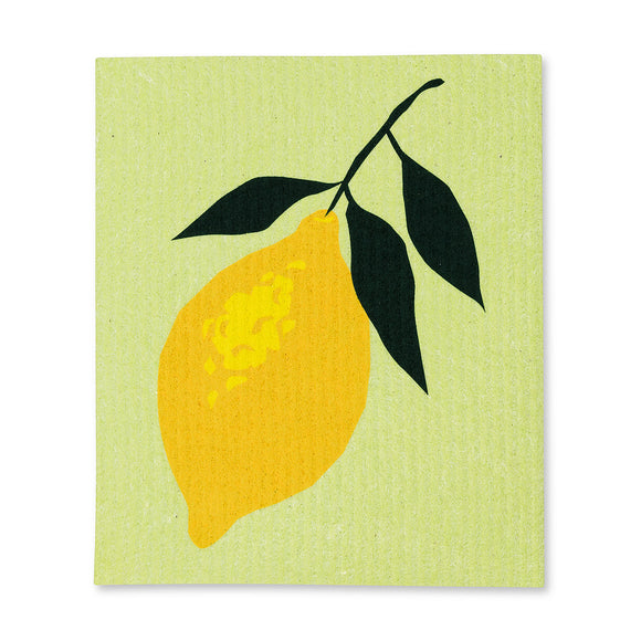 Lemon Dishcloth 1